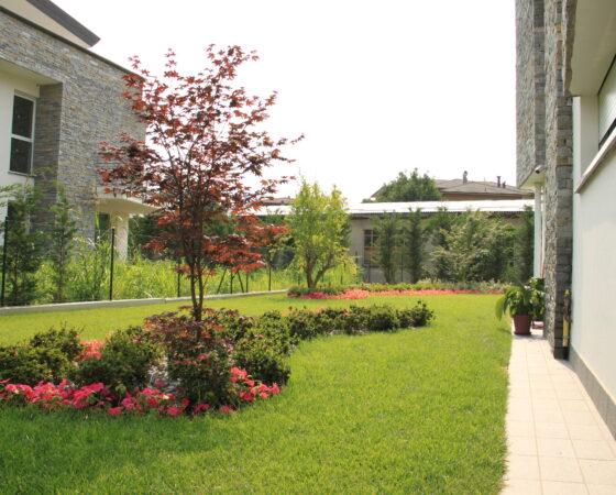 Spazi verdi in residence