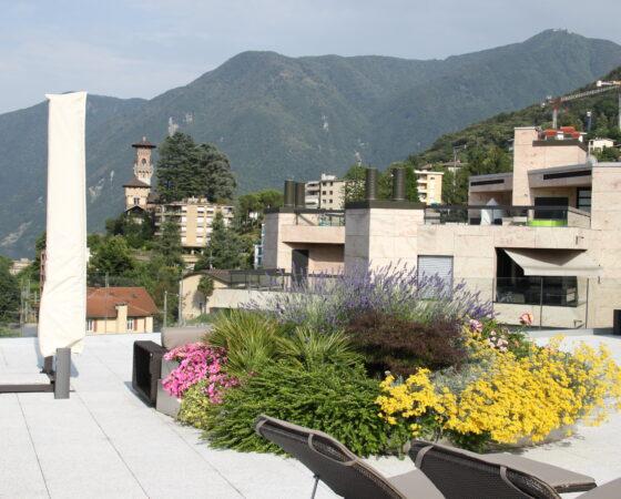 Progettazione e realizzazione di terrazza