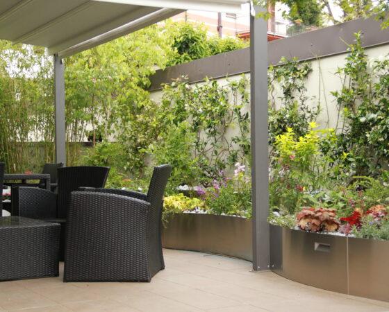 Progettazione di terrazza